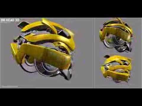 Transformers Bumblebee Head