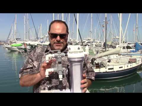 Cruise RO Water Maker Installation Planning: The Valving and Cleaning Assembly 5 of 6 in Series