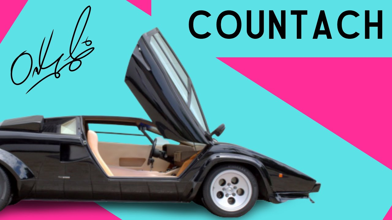 1981 lamborghini countach for sale lp400s all original youtube. Black Bedroom Furniture Sets. Home Design Ideas