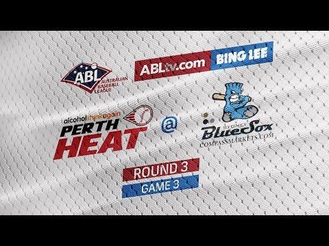 REPLAY: Perth Heat @ Sydney Blue Sox, R3/G3 #ABLHeatSox