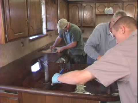 Concrete Countertop EPOXY Finish   YouTube