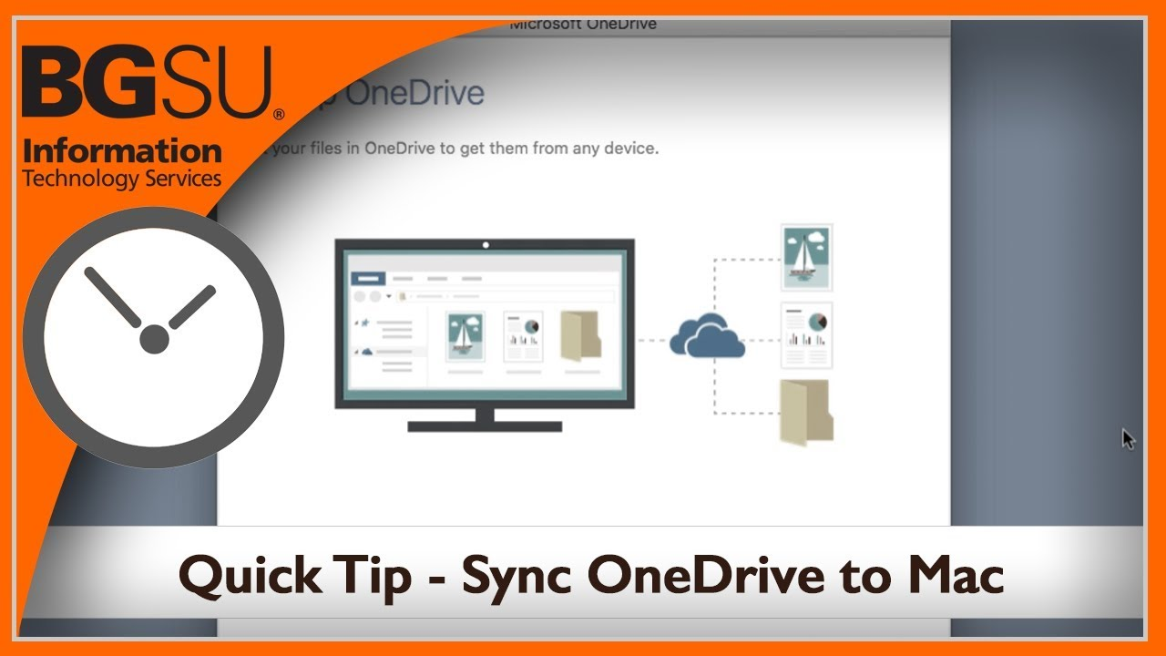 Quick Tips - Sync OneDrive to Mac Computer