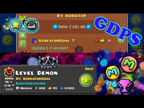 Geometry Dash 2.2/2.1 Private server By me - XGDPS (android/pc)