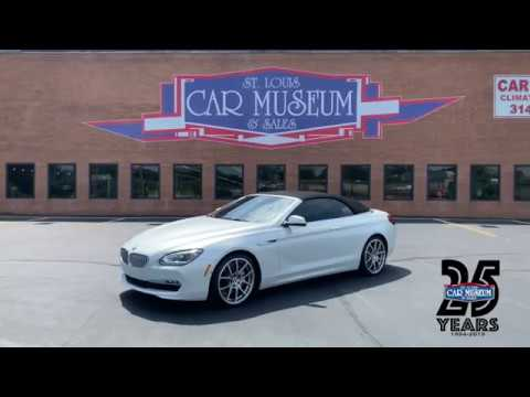 2013 BMW 650i Convertible - SOLD At St. Louis Car Museum & Sales