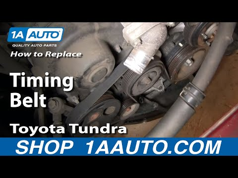 Timing belt replacement mistake Please help | Toyota Tundra