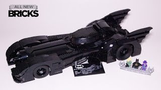Lego 76139 Batman 1989 Batmobile  Speed Build from Tim Burton Film