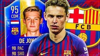 FIFA 19: TOTS FRENKIE DE JONG Squad Builder Battle 🔥🔥