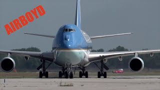 Air Force One Landing Wright-Patterson Air Force Base