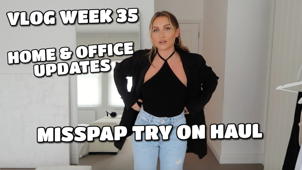 VLOG | MISSPAP TRY ON HAUL, HOME UPDATES & MORE