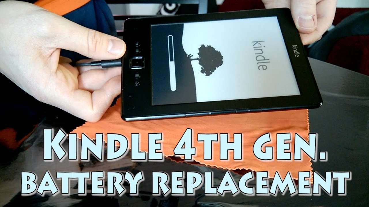 How to replace Amazon Kindle 4th generation battery
