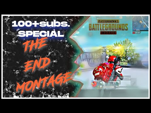 100+subs. SPACIAL | LAST PUBG MOBILE MONTAGE | 1VS4 I ANIWORLD GAMING |