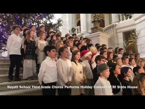 Nayatt School 3rd Grade Chorus Holiday Concert
