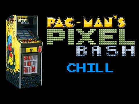 PAC-MAN's Pixel Bash Chill Cabinet