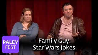 star wars jokes on family guy paley center interview