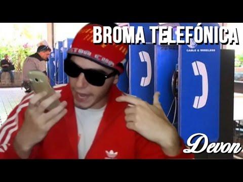 TURRO HACE BROMA TELEFÓNICA | El Devon | Matias Ponce