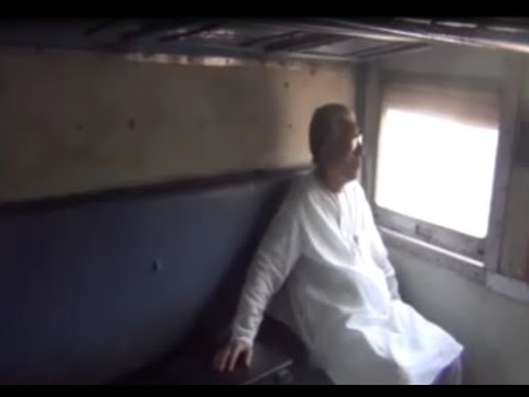 Manik Sarkar CM of Tripura travel local train from Agartala (28-04-17)