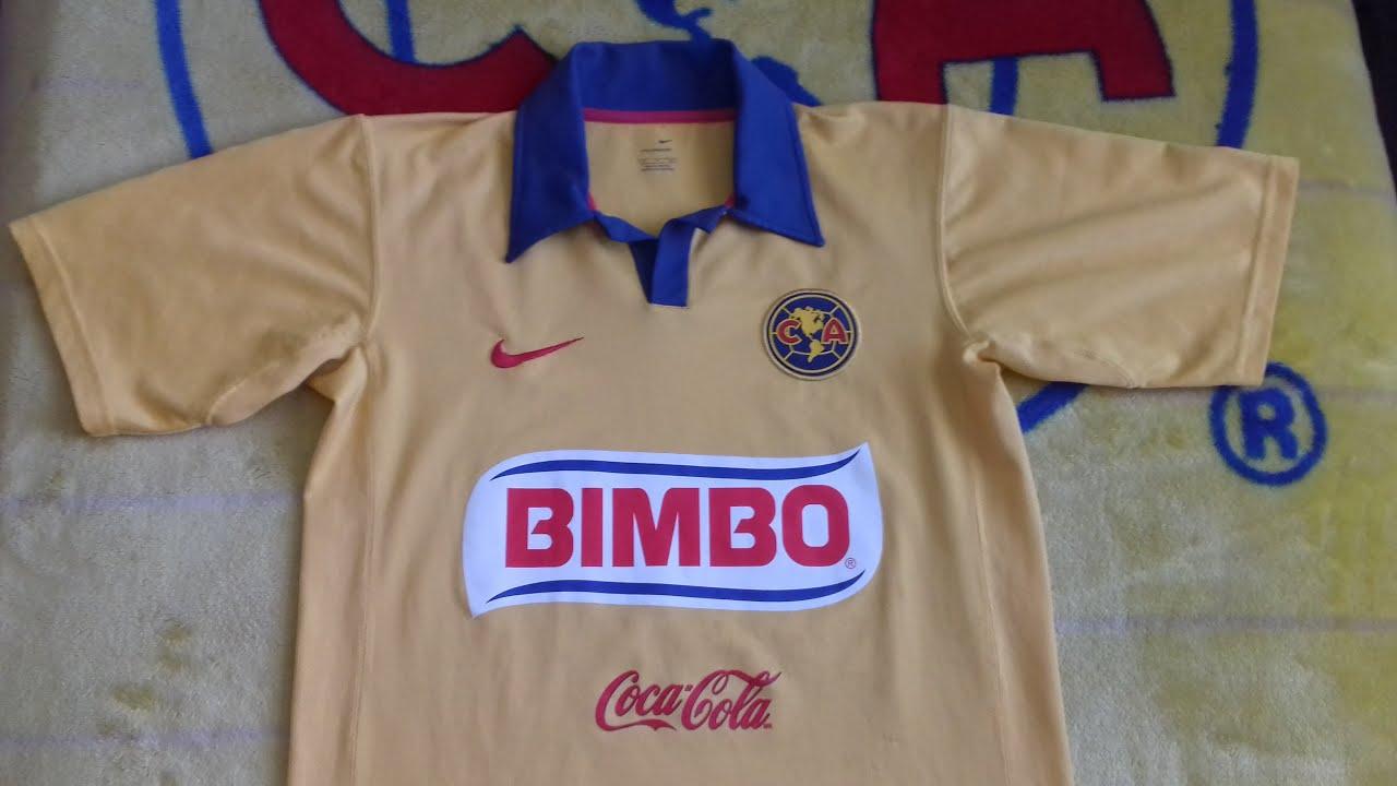 7589a5244 Jersey Nike Club América 2006 2007 - YouTube