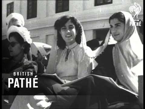 Shah's Visit Unites Islam Nations (1950)