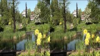 Kraków w 3DHD - Gdy w ogrodzie botanicznym...cz. 2