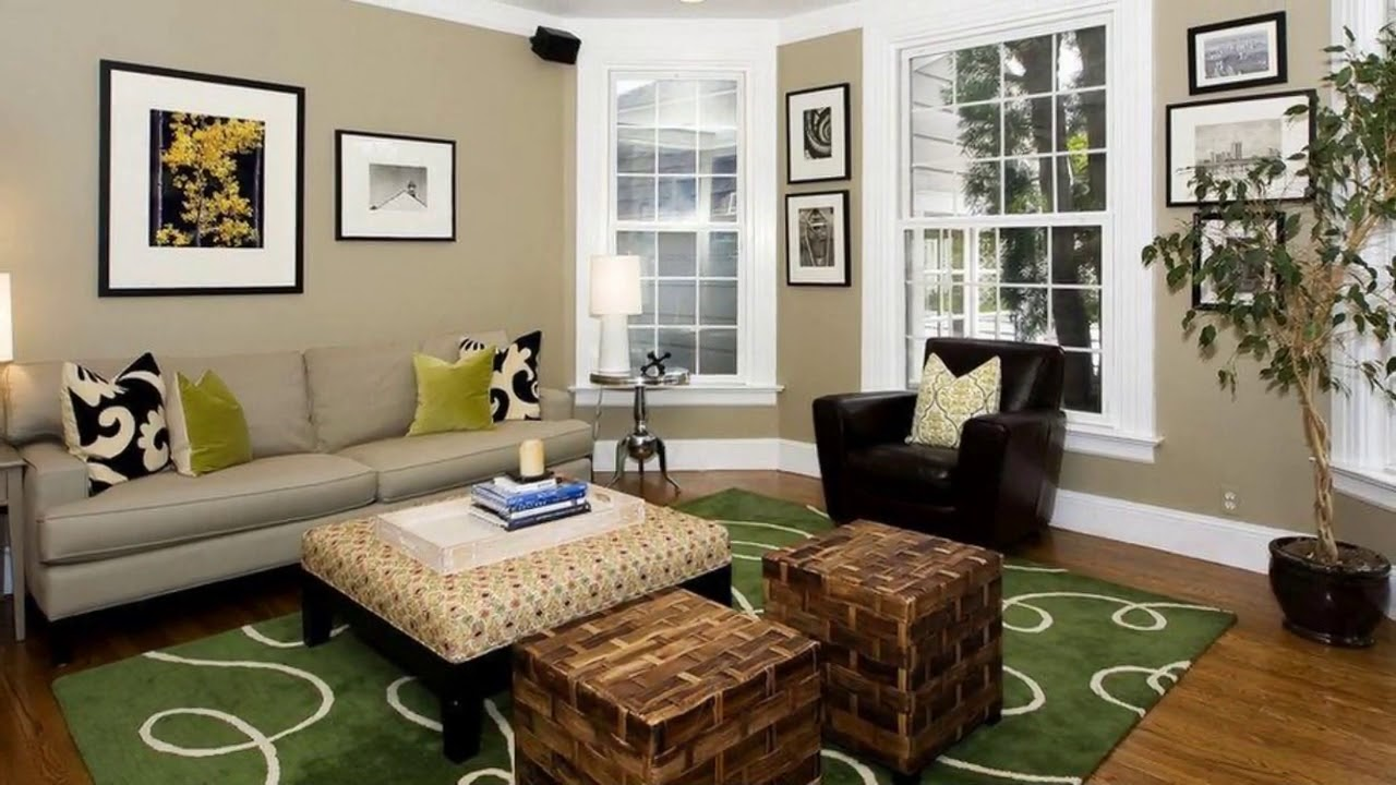 Colour combination for living room by asian paints