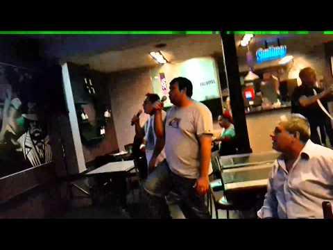 karaoke con Carlito y Marcelo.