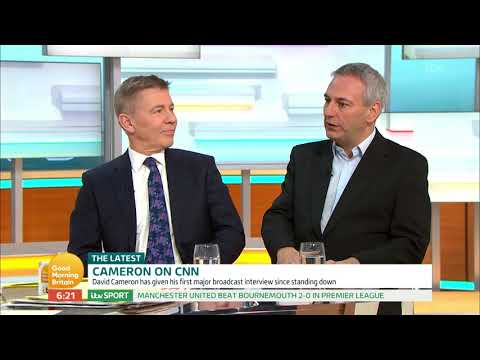 David Cameron on CNN| Good Morning Britain