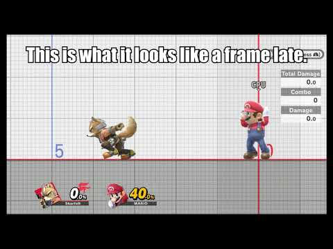 Initial Dash RAR Demonstration for Smash Ultimate