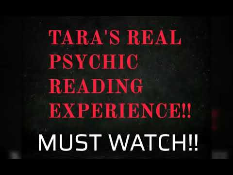 Tara's REAL Psychic Reading Experience With Me!! Part 1