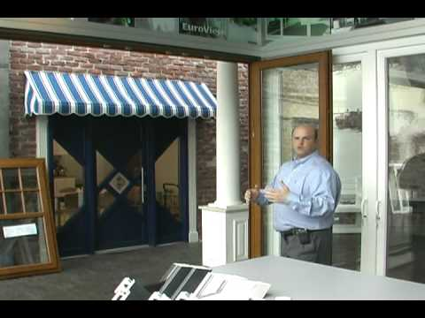 VEKA Fold and Slide Door System  sc 1 st  YouTube & VEKA Fold and Slide Door System - YouTube