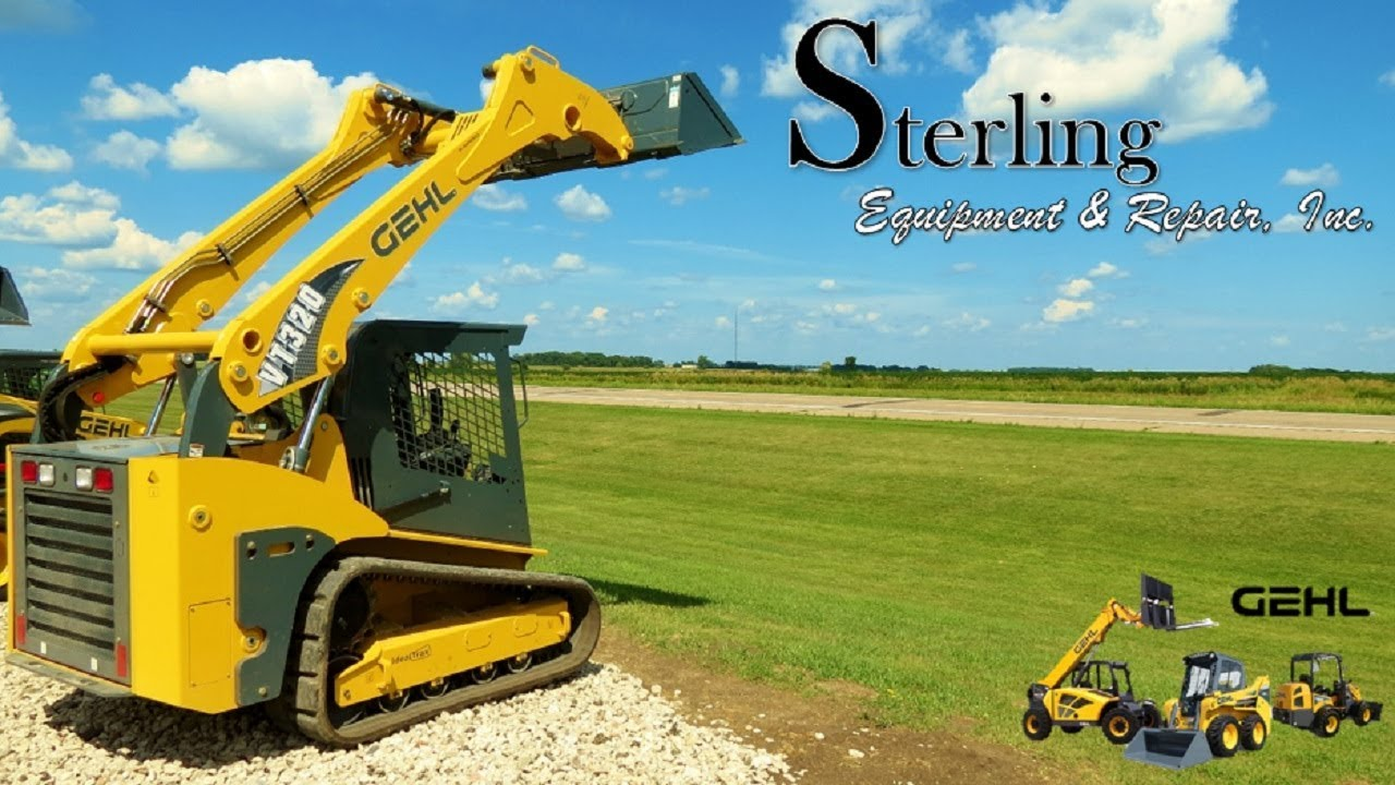 Gehl VT320 Track Loader Overview by Sterling Equipment & Repair