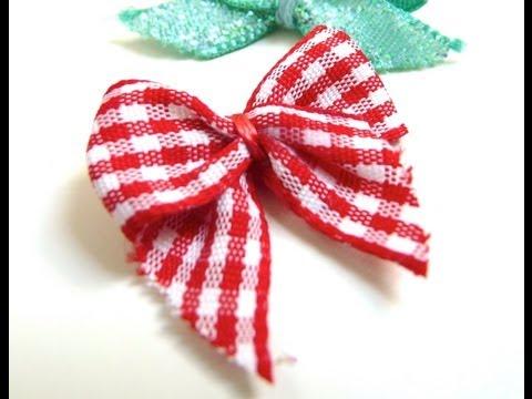 Hd tuto faire un noeud 39 ruban 39 en origami make a k - Comment faire un noeud avec un ruban ...