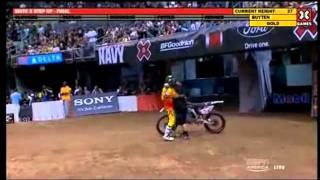 X Games 17 - Moto X Step up Final - Matt Buyten jumps 37 feet (new world record) and win gold medal