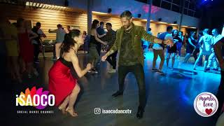 Oleg Sokolov and Olesya Petrova Salsa Dancing in Mambolove, Monday 11.06.2018