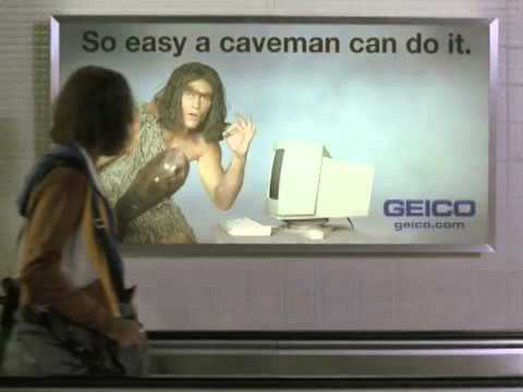 so easy a caveman can hit it