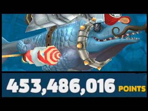 Hungry Shark Evolution   World Record High-Score 453,486,016