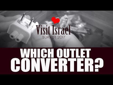 Using Outlet Converters in Israel: How to charge your phones in Israel