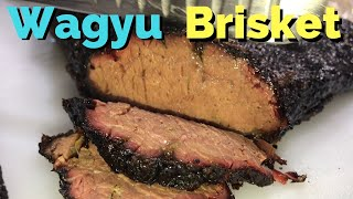 Smoking A Wagyu Brisket From Snake River Farms