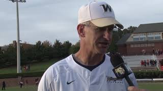 2017 Wingate Football - Tusculum Postgame with Coach Reich
