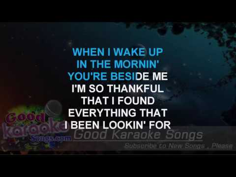 Like You'll Never See Me Again - Alicia Keys ( Karaoke Lyrics )