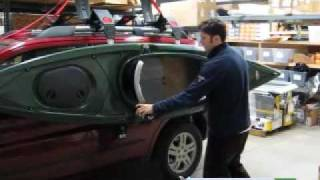 Malone AutoLoader / Telos Kayak Rack System Review Video & Demonstration(http://www.orsracksdirect.com/malone-autoloader-kayak-rack-mpg106m.html Malone AutoLoader Kayak Rack / Telos Lift-Assist review video & demo by ORS ..., 2009-07-31T20:28:21.000Z)