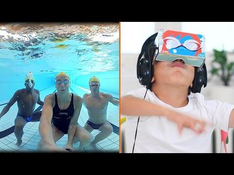 VR hilft diesen Kindern, ihre Angst vor Wasser zu verlieren
