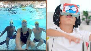 VR hilft diesen Kindern ihre Angst vor Wasser zu verlieren
