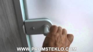 видео Стеклянные офисные двери. Лучшие модели и их свойства