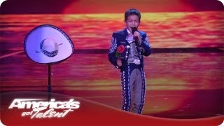 "Young Mariachi Amazes Crowd With Voice - AGT Sebastien ""El Charro De Oro"" Quarterfinals"