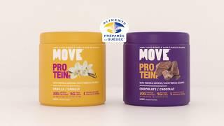 MOVE : La protéine végétale veloutée, qui vous épatera