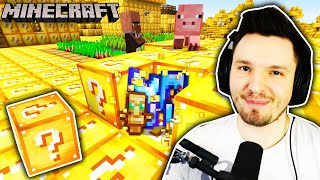 MINECRAFT aber ES REGNET LUCKY BLOCKS!