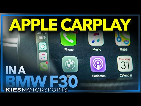 How to install CarPlay in an F30 BMW WITHOUT an NBT EVO! (CarPlay MMI from BimmerTech