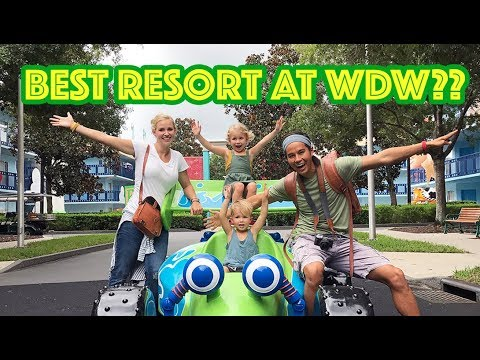 BEST Resort at Walt Disney World?? See ALL 30 Resorts in 30 Days!!