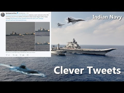 Indian Navy trolls China Navy on Twitter over presence in Indian Ocean