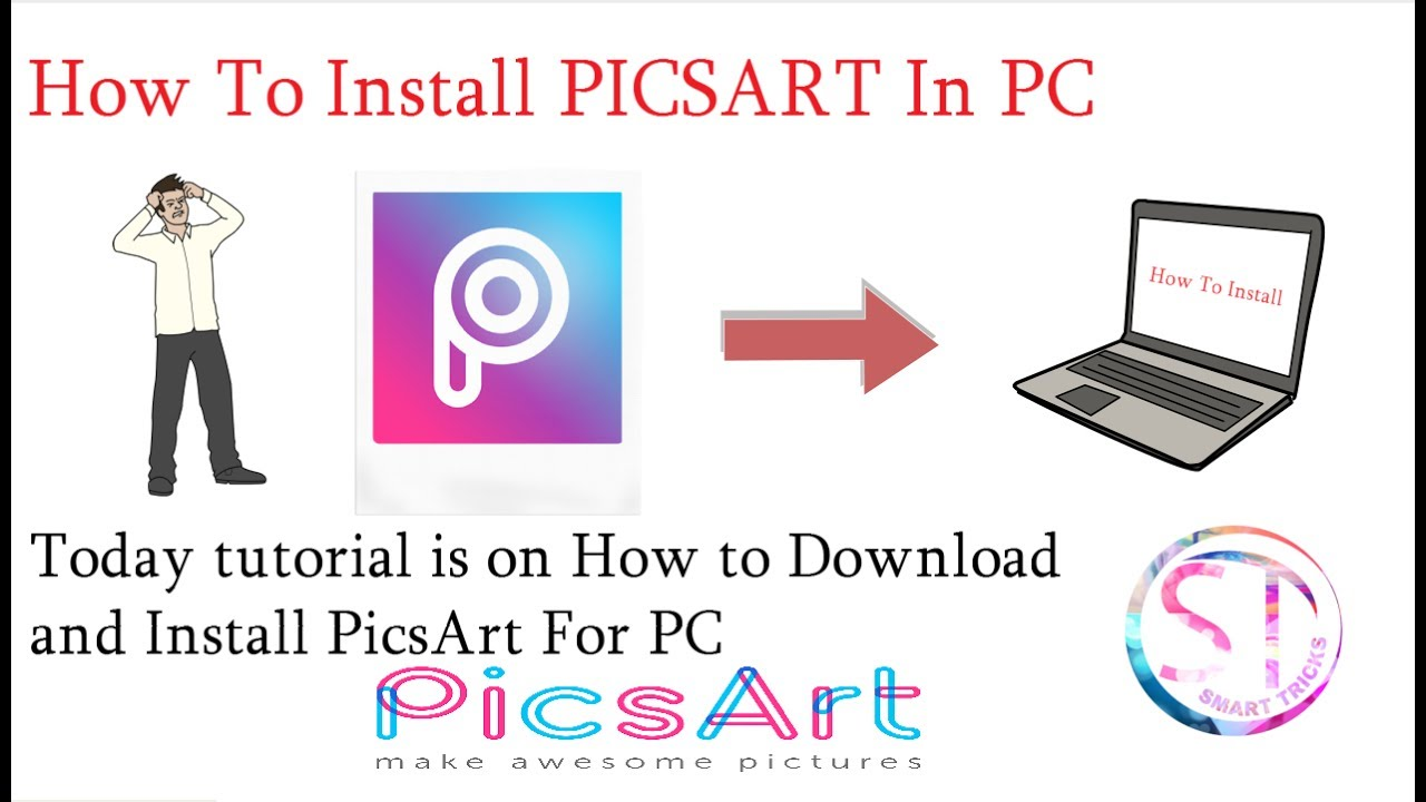 PicsArt For PC II How To Install PicsArt on PC (Window 7,8,10)